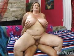 Oversized deedra rae's pussy and mouth engulf a guy's cock