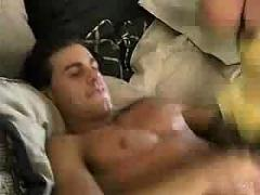 Hot babe having anal sex