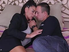 Hot mature gets fucked hard