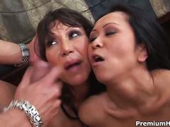 Horny milfs go crazy for cock