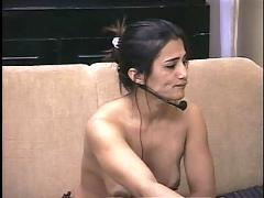 Brazilian masturbating to orgasm 3