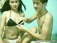 Webcam couple