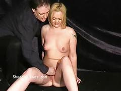 bdsm, blondes, bondage, spanking