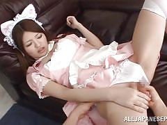 teen, hairy, japanese, maid, kitty, fingering, cosplay, censored, 18 tokyo, all japanese pass, azusa akane