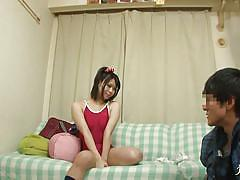 teen, handjob, japanese, shower, wash, censored, bathing suit, nipple rubbing, 18 tokyo, all japanese pass, mikan kururugi