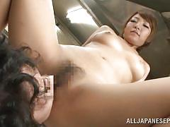milf, japanese, blowjob, kitchen, censored, reverse cowgirl, pussy eating, on the table, jp milfs, all japanese pass