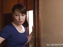 mature, japanese, blowjob, brunette, censored, japanese matures, all japanese pass, yuuri saejima