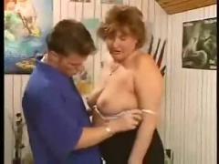 Granny cunt penetration