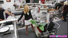 Hot milf holly banged hard in a pawn shop