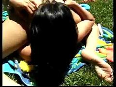 Sensual babes next the pool...f70