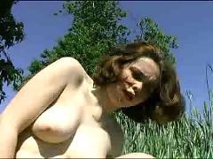 French baise dans la nature