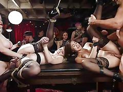 Kinky fuck party full of big boobs and juicy pussy