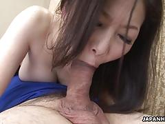 Tiny asian wife got her hairy pussy drilled after a 69