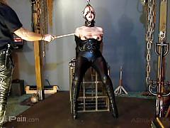 Sadistic bdsm session with abigail dupree