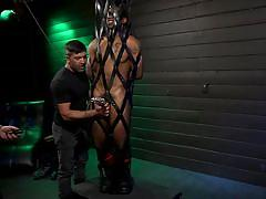 Kinky cock torture for buck wright