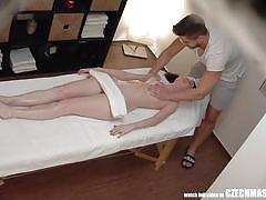 Czech amateurs fuck the masseur!