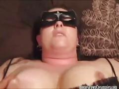 Hot load of jizz for her chubby pussy