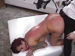 Submissive milf gets punished and fucked