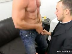 Horny hunks casey and kirk confession time turned fucking session