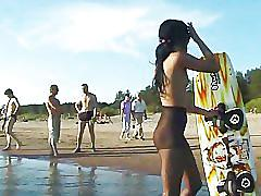 amateur, outdoor, homemade, outdoors, public, outside, teens, young, nudist, nudism, beach