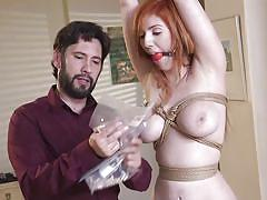 He is going to fuck her tight virgin asshole