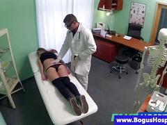Real medical patient fucked by doctor