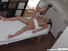 One usual massage ends with fucking