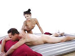 It looks like a massage but feels like sex