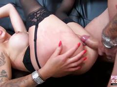 Purexxxfilms horny punk slut with big tits fucked hard