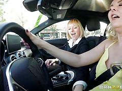 milf, blonde, lesbians, babe, pussy licking, fingering, in car, pussy rubbing, hot and mean, brazzers, aaliyah love, kate england