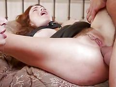 Ffm threesome bdsm role play with rough anal