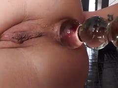 Double penetração, vadia levando 3 picas