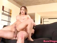 Glamcore euro massaged before analsex