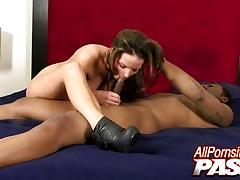 Cock sucking alexxxa may black dick fucked