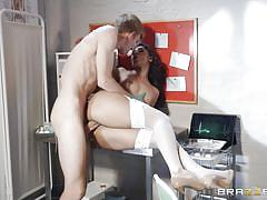 milf, big cock, doctor, blowjob, kissing, missionary, patient, reverse cowgirl, sideways, cock sucking, in hospital, doctor adventures, brazzers network, danny d, sahara knite