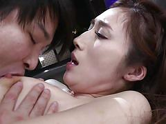 This asian babe's pussy juices taste better than anything