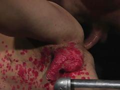 gays, blindfolded, big dick, bdsm, cock torture, whipping, nipple pinching, device bondage, hot wax, domination, cock sucking, bound gods, kink men, colby jansen, zak bishop