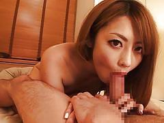 Ayu is gonna suck your cock real good