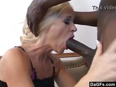 hardcore, blonde, interracial, milf, blowjob, bigdick