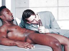 Jack hunter likes big black dicks