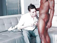 Jack hunter likes big black dicks