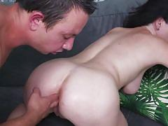 Busty milf gets fucked in the ass