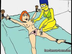 Famous lesbian toon girls orgy