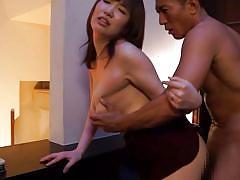 babe, japanese, rimjob, blowjob, busty, fingering, from behind, censored, position 69, standing sex, erito av stars, erito, mizuna wakatsuki