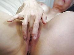 Lick that dildo you, sexy mature lady