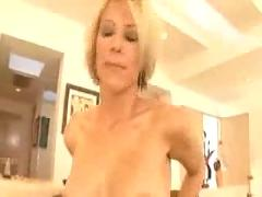 Housewife orders two studs