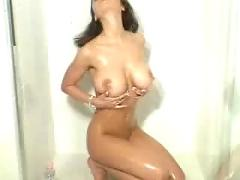 Wet veronica zemanova showing her assets
