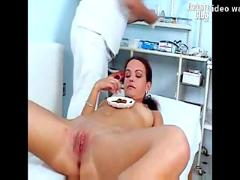 Bridgit gyno pussy proper speculum examination at kinky gyno