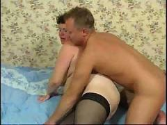 Fat mature in stockings anal sex