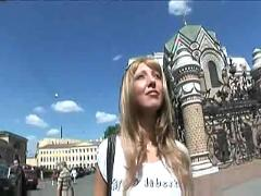 Russian sunny blond